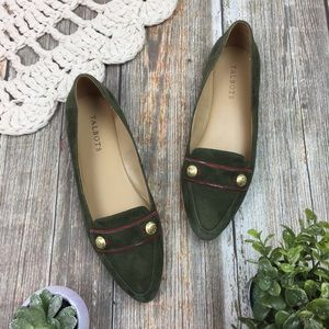 Talbots | Pointed Toe Leather Driving Loafers